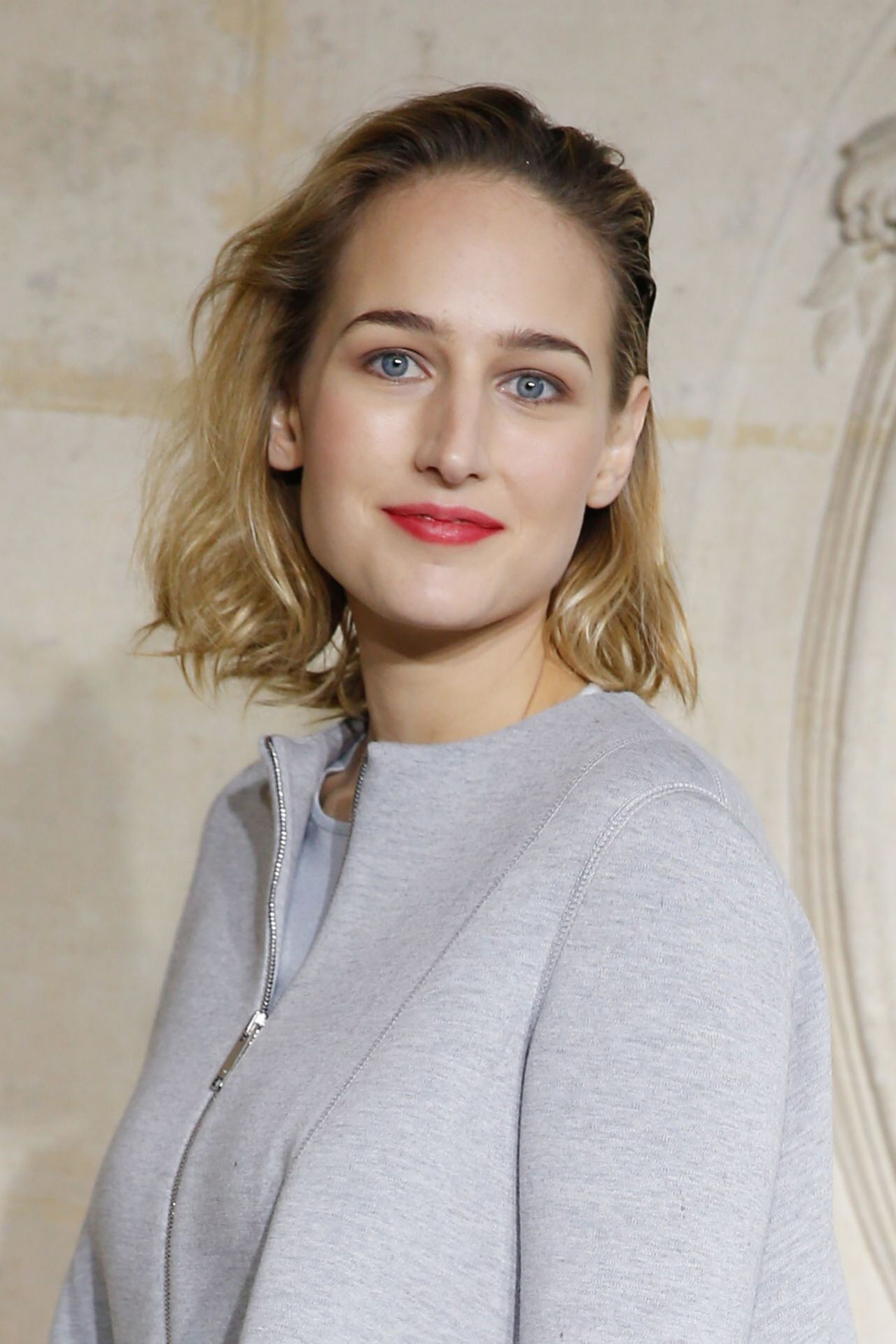 Leelee Sobieski - Christian Dior Fashion Show in Paris, January 2014