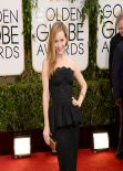 Leslie Mann at Golden Globe Awards 2014