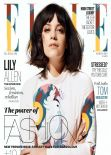 Lily Allen - ELLE Magazine (UK) - March 2014 Cover
