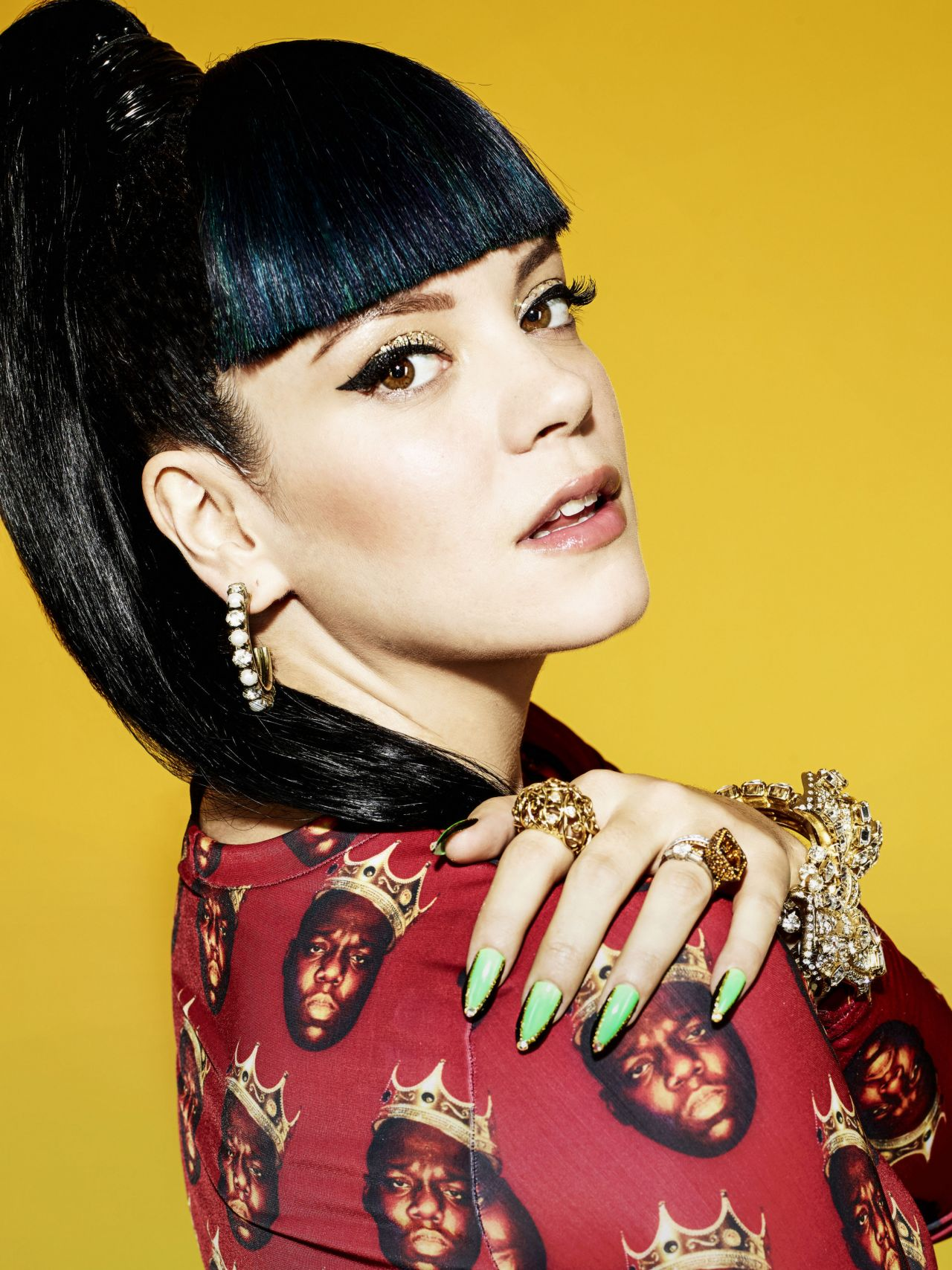 Lily Allen NME 2014 Photoshoot