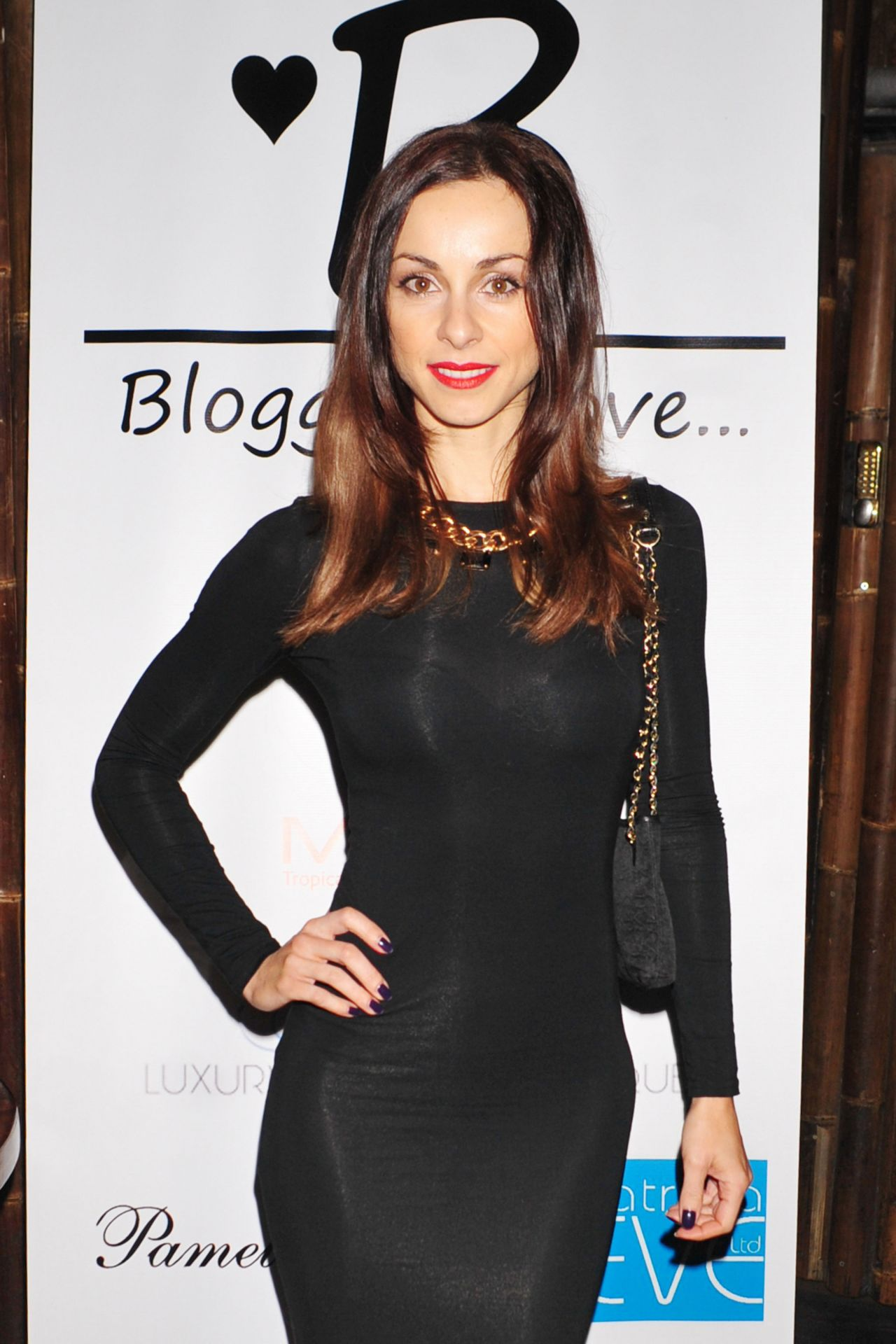 Lindsay Armaou - Bloggers Love Secret Garden Event - London, January 2014