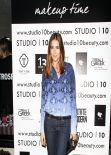 Lisa Snowdon- The Studio 10 VIP Makeup Launch in London - January 2014