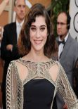 Lizzy Caplan - 71st Annual Golden Globe Awards, January 2014