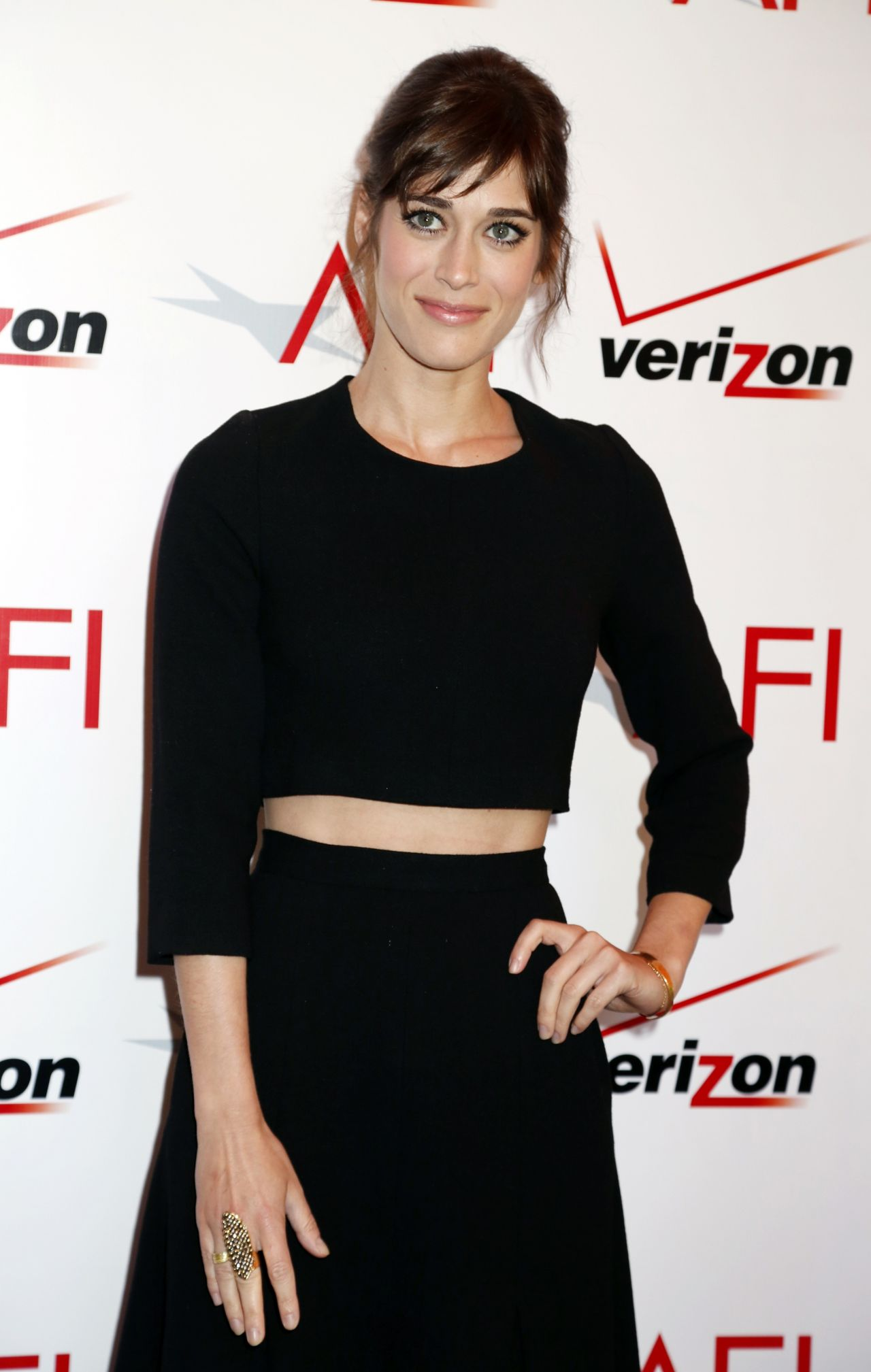 Lizzy Caplan - AFI Awards Luncheon in Beverly Hills - 2014