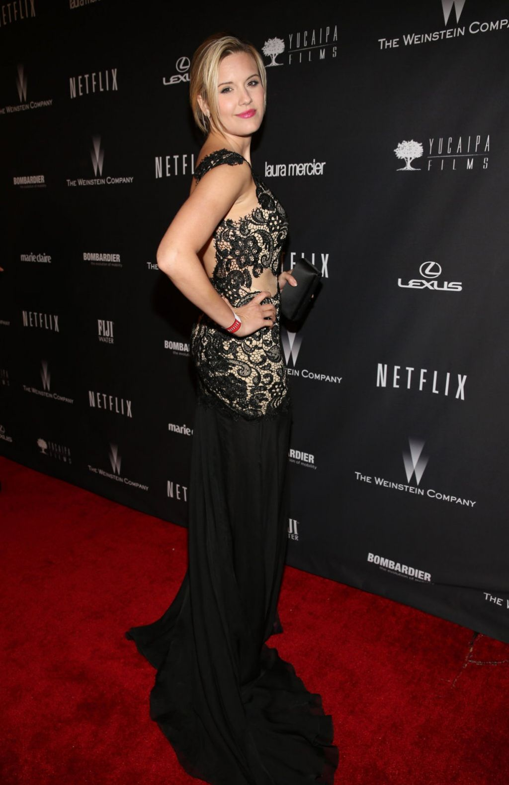 Maggie Grace - The Weinstein Company & Netflix 2014 Golden Globe Afterparty