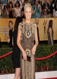 Malin Akerman Wears Naeem Khan at 2014 SAG Awards
