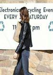 Mandy Moore Street Style - Out in Los Feliz - January 2014