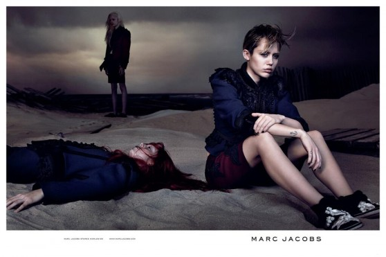 Miley Cyrus - Spring 2014 Marc Jacobs Ad
