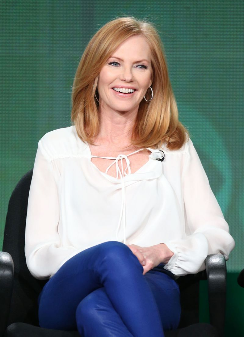 Marg Helgenberger at CBS 2014 Winter TCA Tour in Pasadena