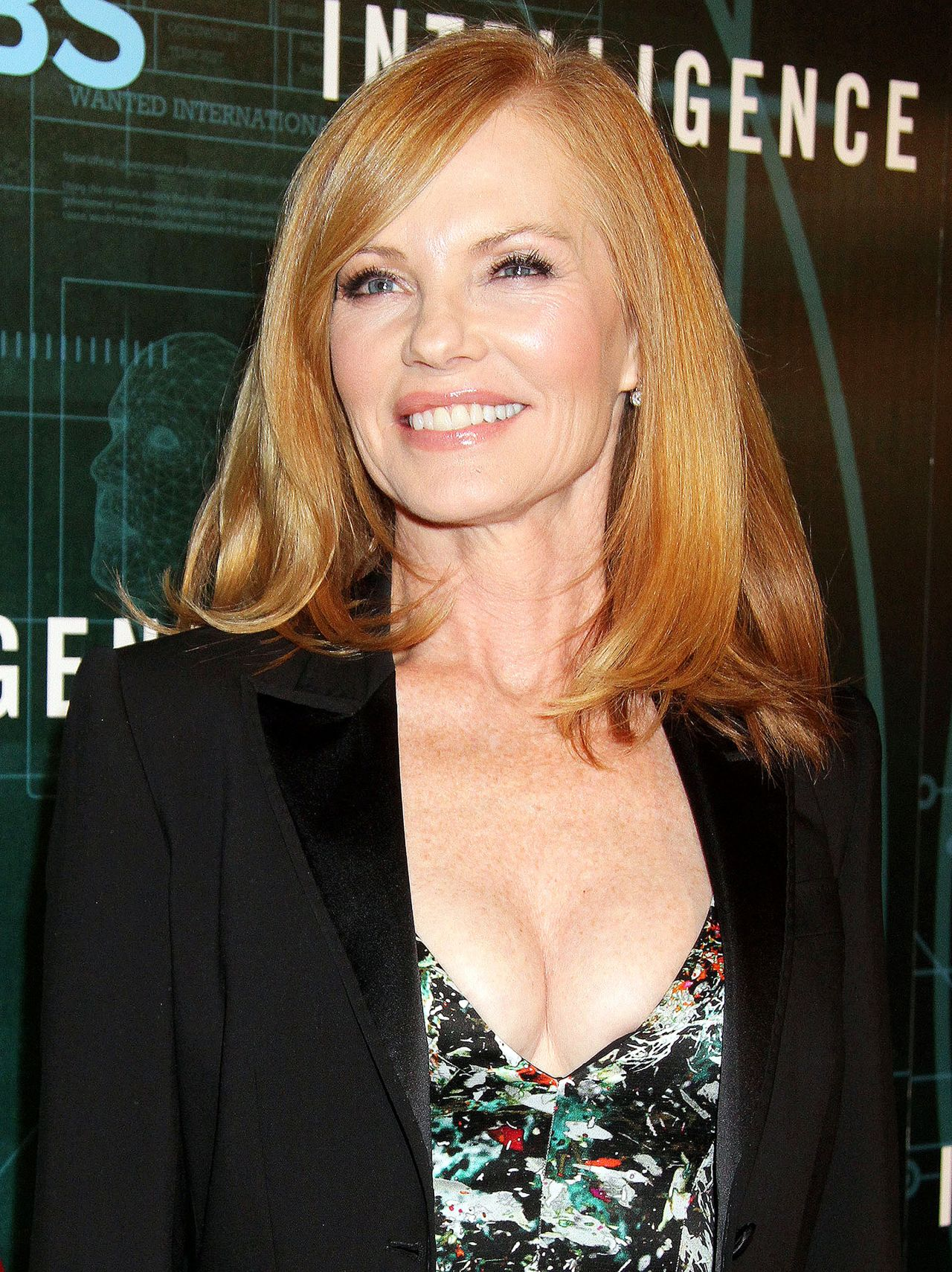 Marg Helgenberger At Cbs Television Presents Cnets -7286