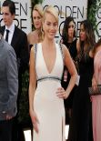 Margot Robbie Wears Gucci -  2014 Golden Globe Awards Red Carpet