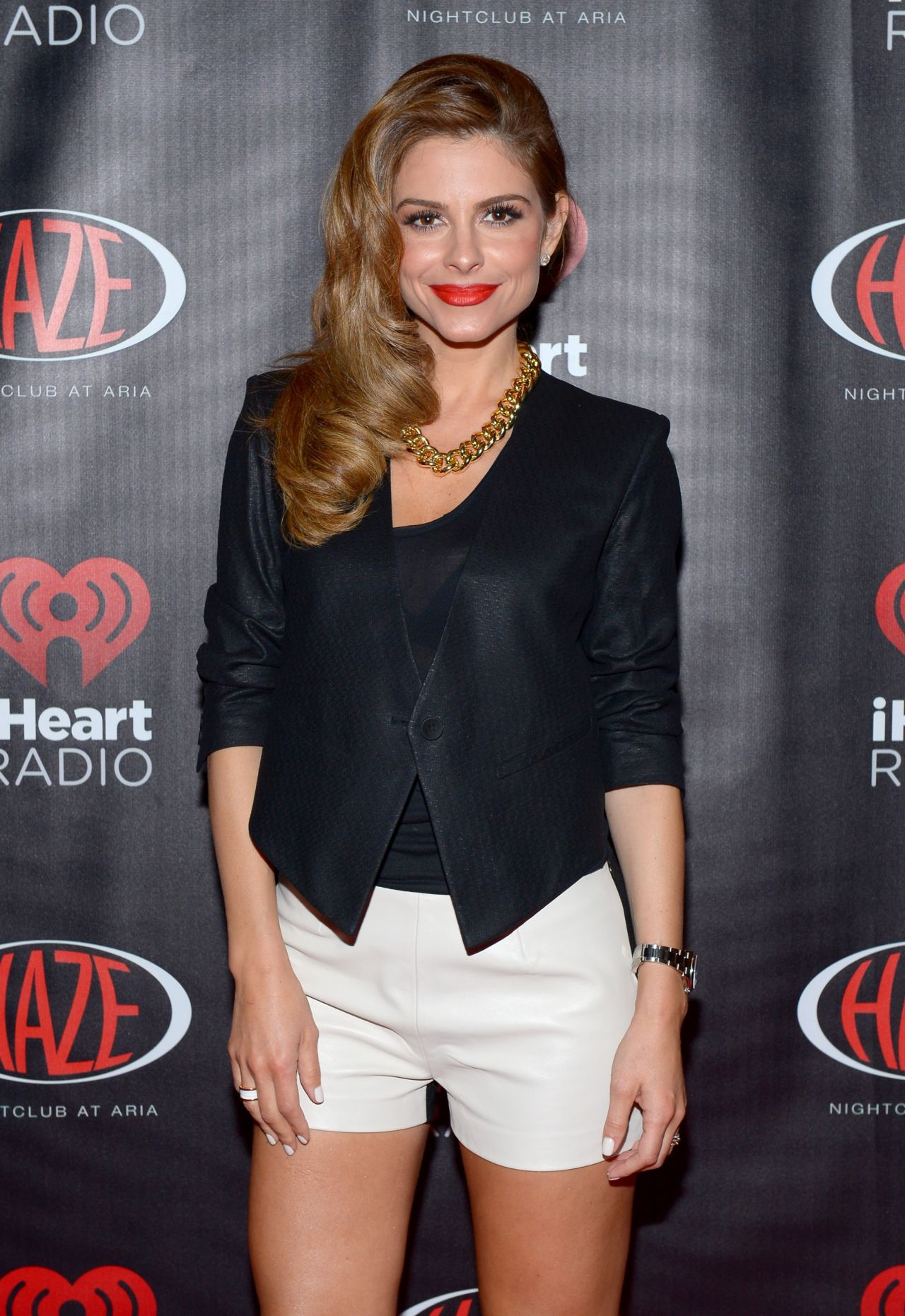 Maria Menounos at iheartradio CES party in Vegas 2014