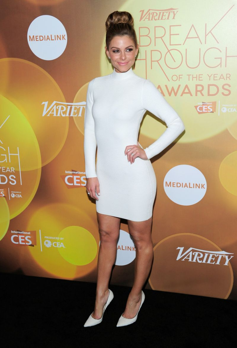 Maria Menounos Attends 2014 Variety Breakthrough of the Year Awards in Las Vegas