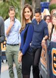 Maria Menounos EXTRA Set Photos - Los Angeles - January 2014