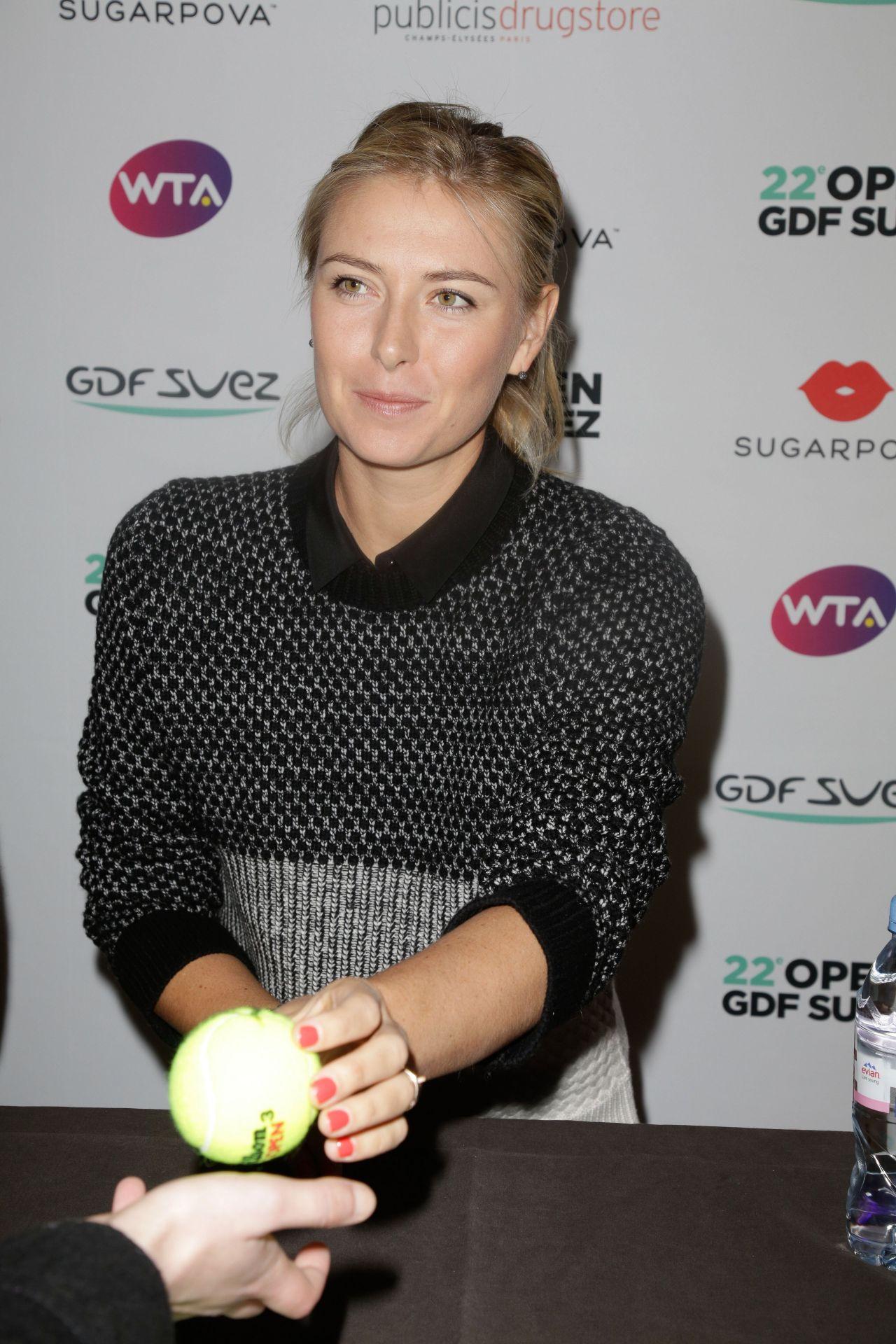 Maria Sharapova at Sugarpova Candy Collection Promotion – Paris