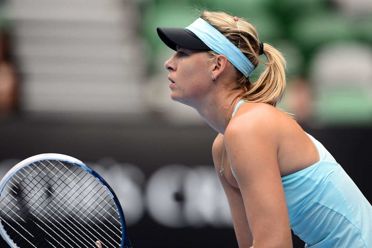 Maria Sharapova - Australian Open - January 20, 2014