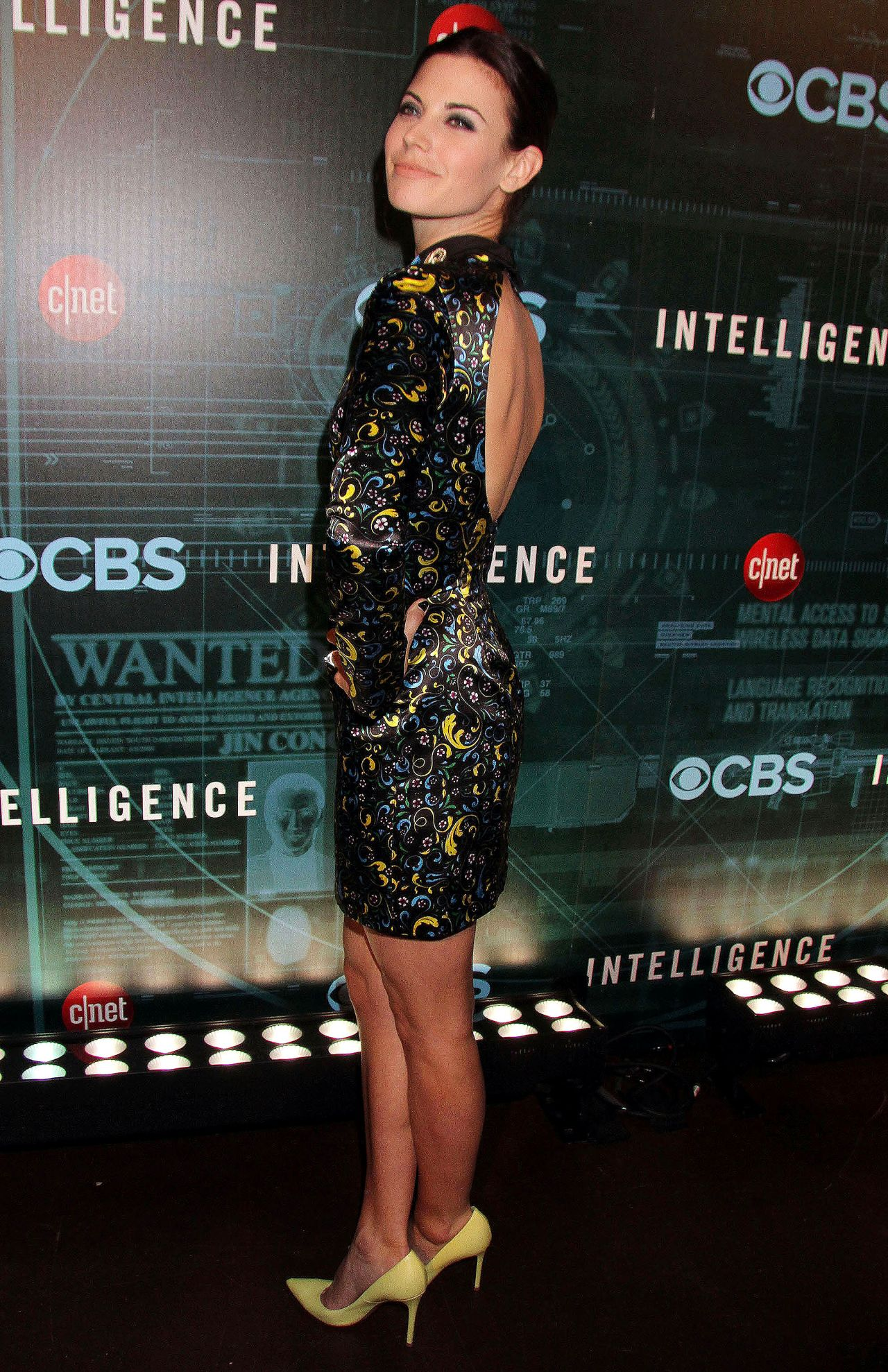 Meghan Ory Attends Cbs Television Presents Cnet S