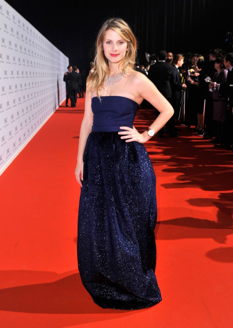 Melanie Laurent on Red Carpet - 2014 IWC The Wave Gala in Geneva