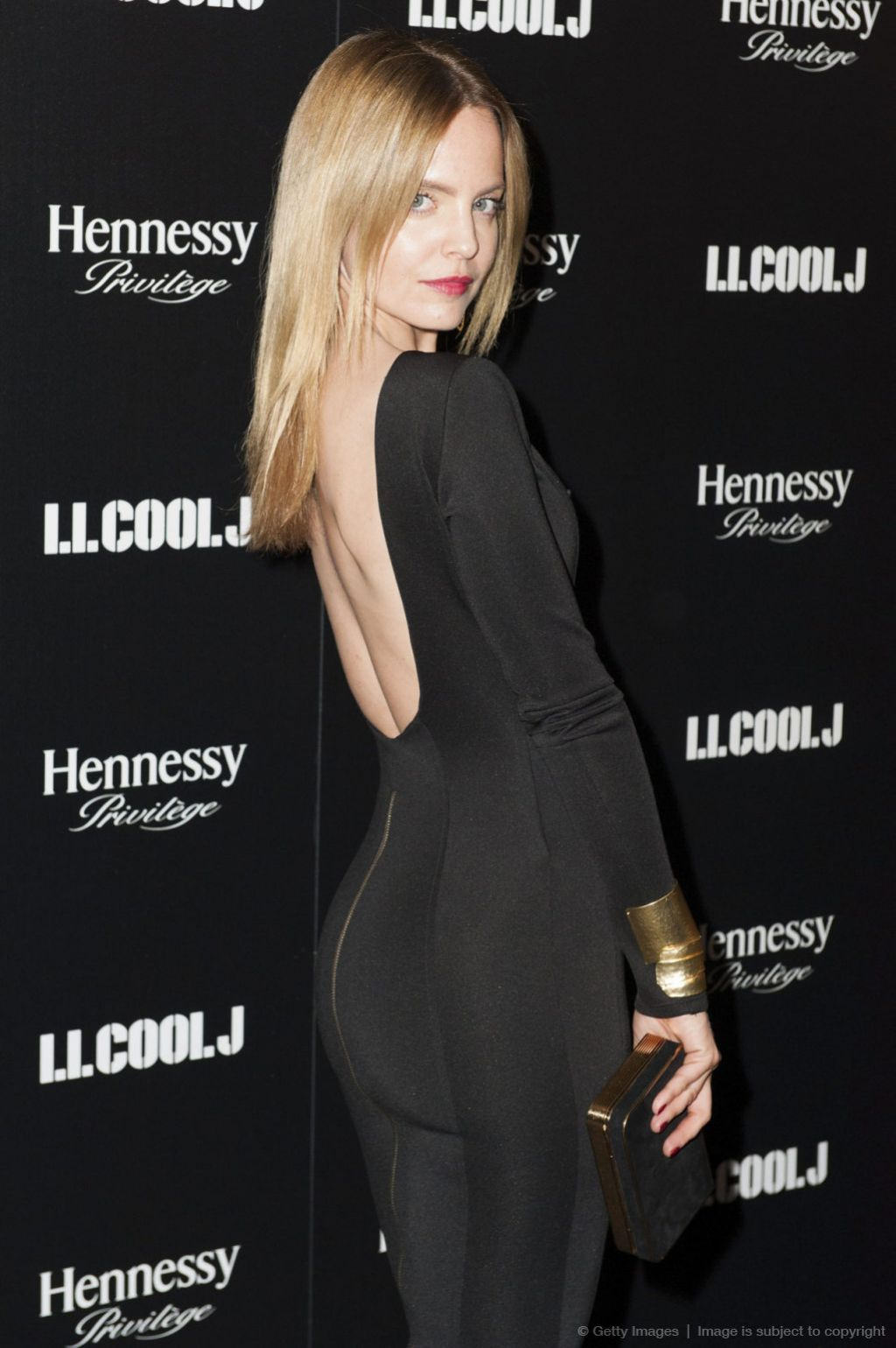 Mena Suvari Attends LL Cool J Hosted Pre-Grammy Awards Dinner, January 2014