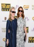 Meryl Streep & Julia Roberts at 19th Annual Critics Choice Movie Awards in Santa Monica, January 2014