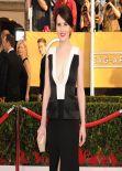 Michelle Dockery Wears J Mendel at 2014 SAG Awards