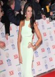 Michelle Keegan Wears Philip Armstrong Atelier Gown at NTAs London, January 2014