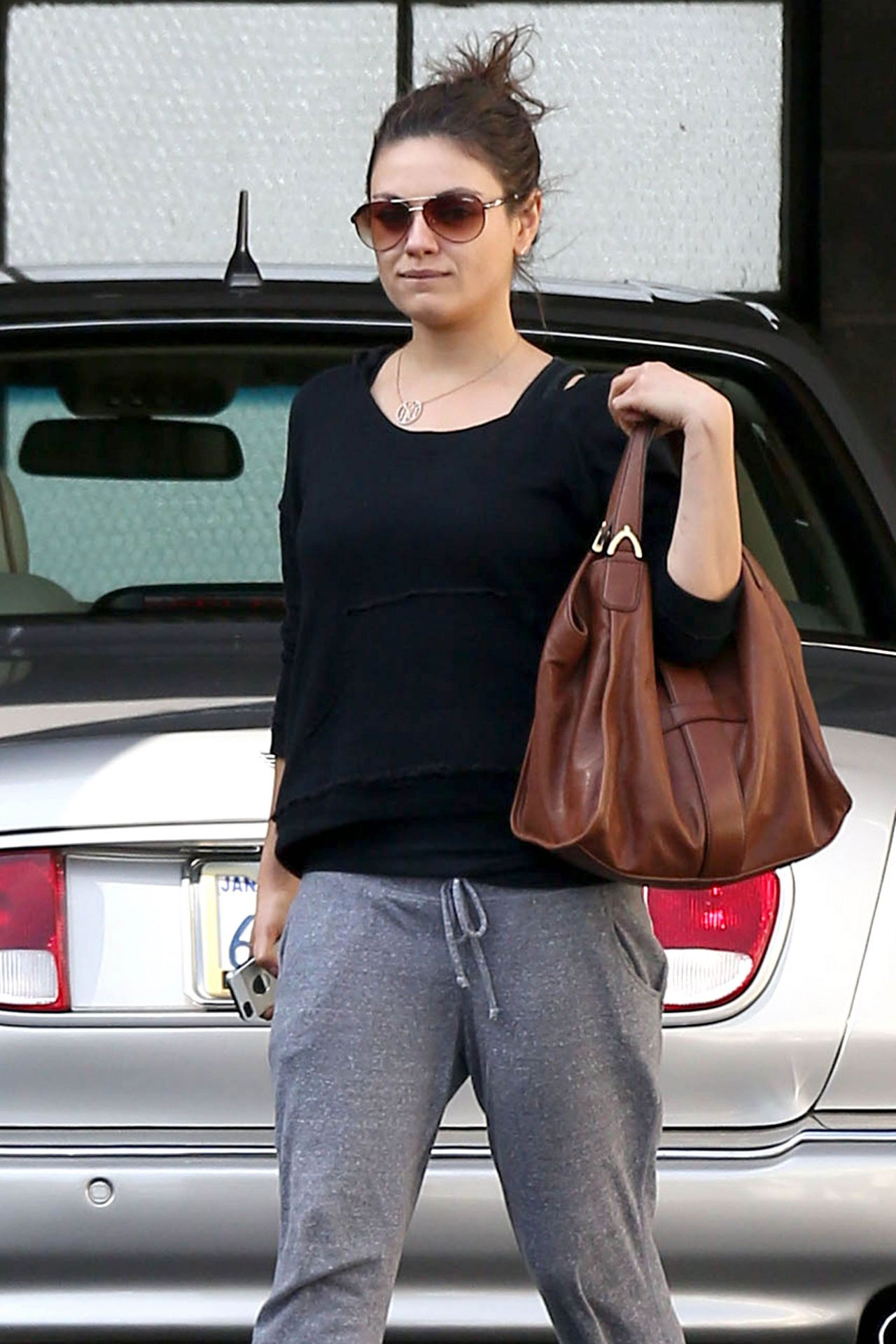 Mila Kunis Street Style Out And About January 2014
