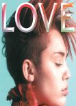 Miley Cyrus - LOVE Magazine (UK) - February 2013 Issue