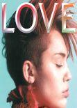 Miley Cyrus - LOVE Magazine (UK) - February 2013 Issue