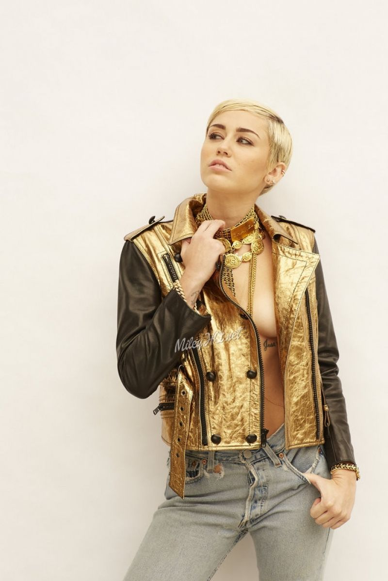 Miley Cyrus - Photoshoot by Brian Bowen Smith