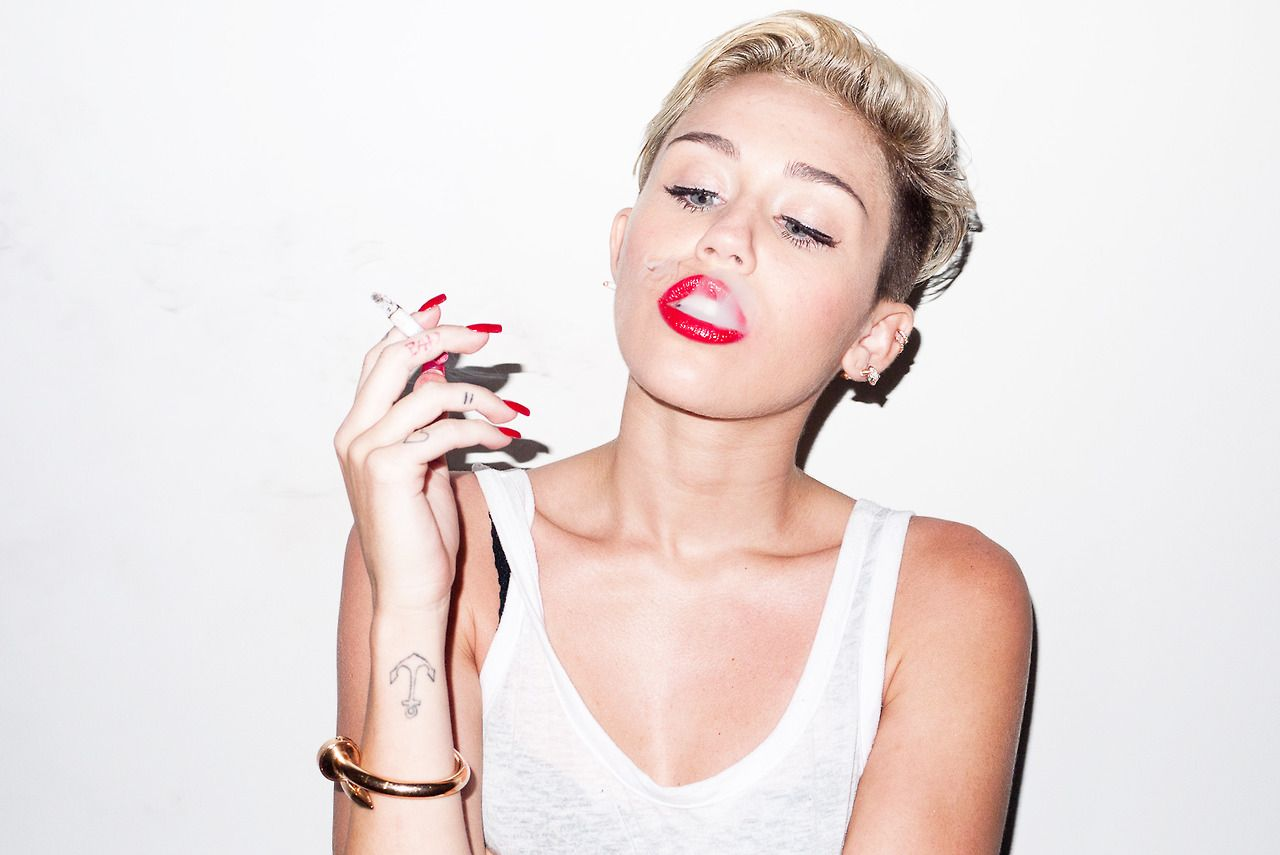 Miley Cyrus - Photoshoot by Terry Richardson (2013)