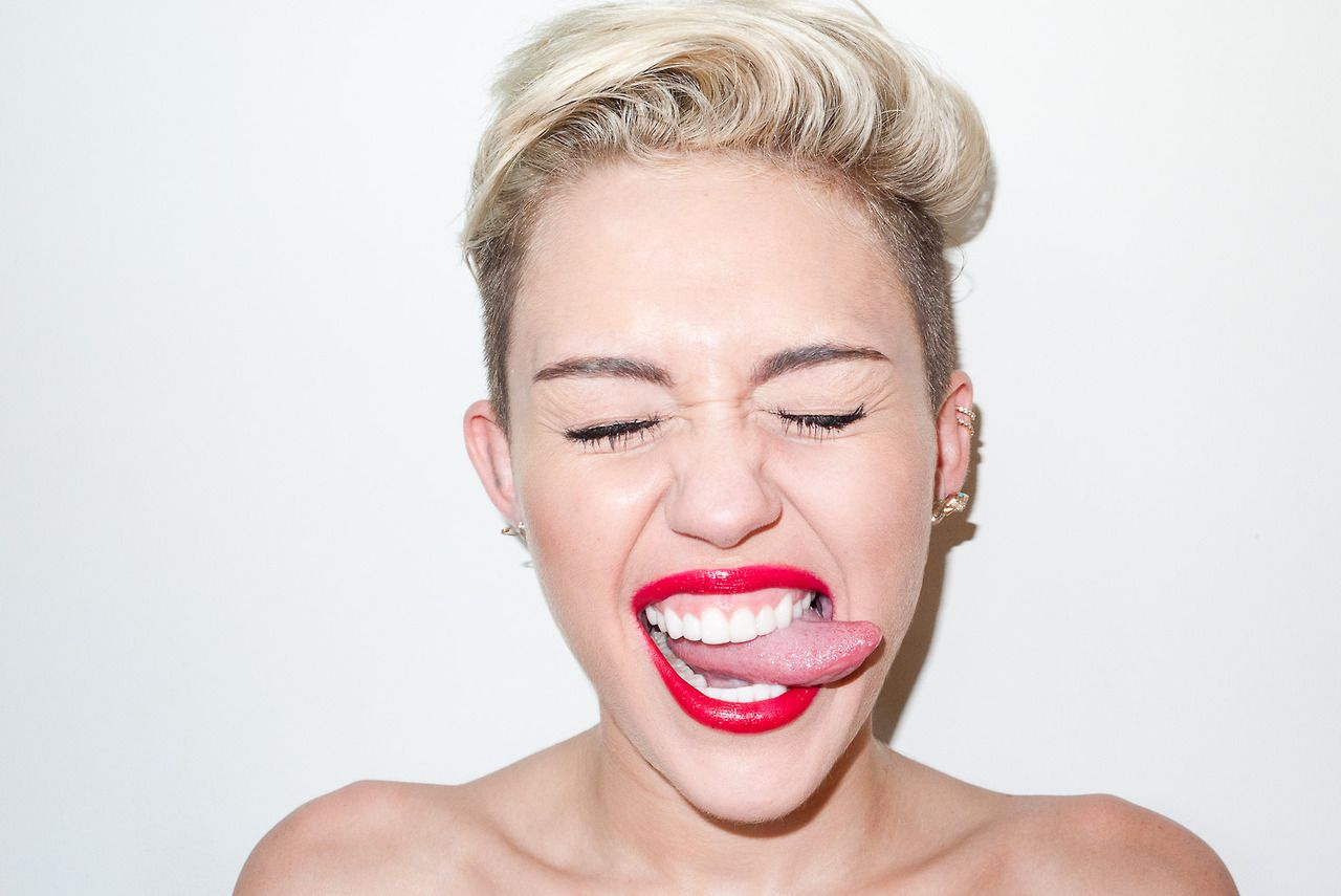 Miley Cyrus - Photoshoot By Terry Richardson 2013-6927