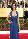 Morena Baccarin Wears Monique Lhuillier Dress at 2014 SAG Awards in Los Angeles