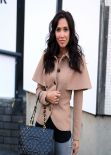 Myleene Klass Street Style - in Jeans and FMB