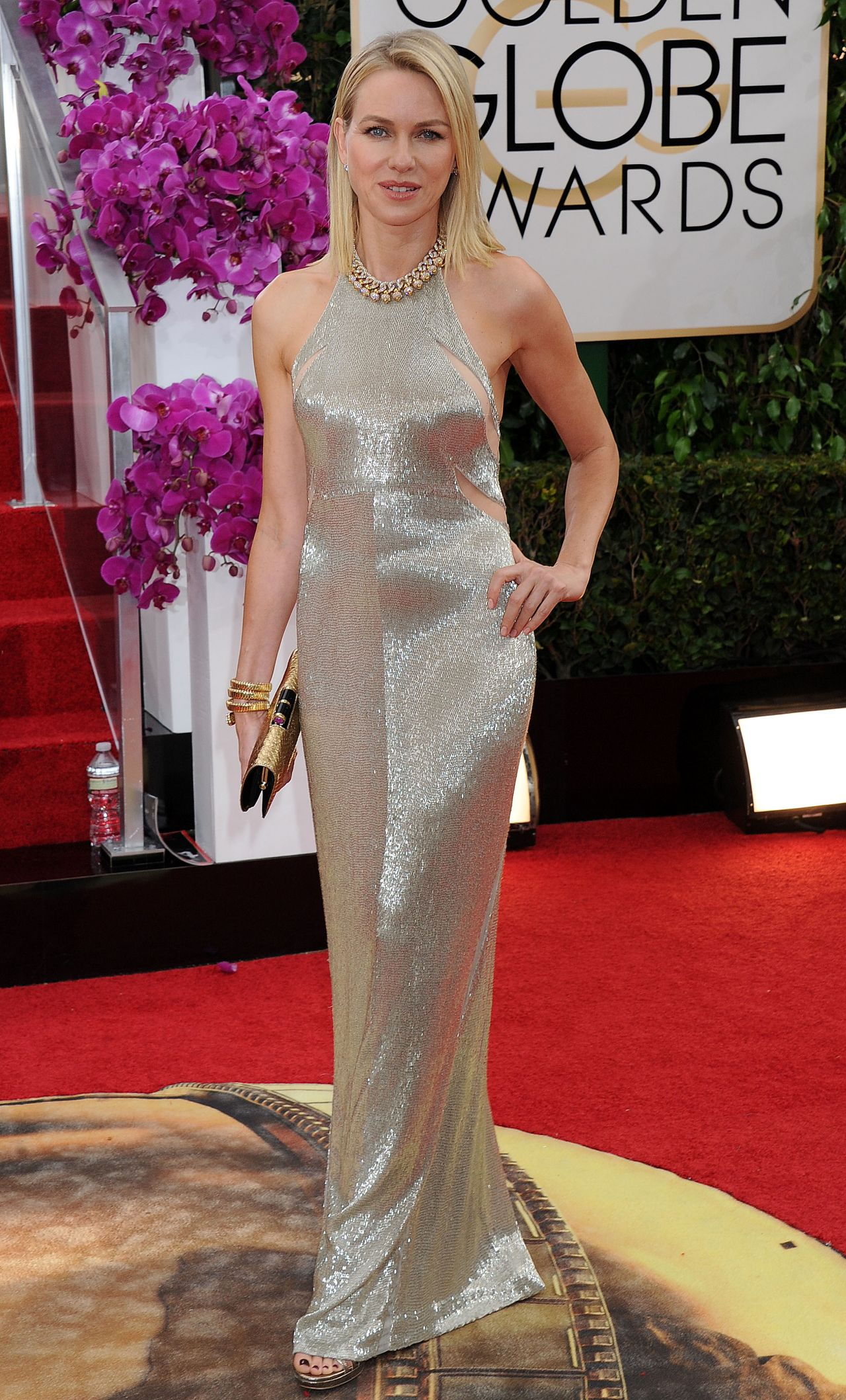 Naomi Watts Wears Tom Ford at 2014 Golden Globe Awards (Part II)