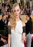 Natalie Dormer Wears Marios Schwab at 2014 SAG Awards