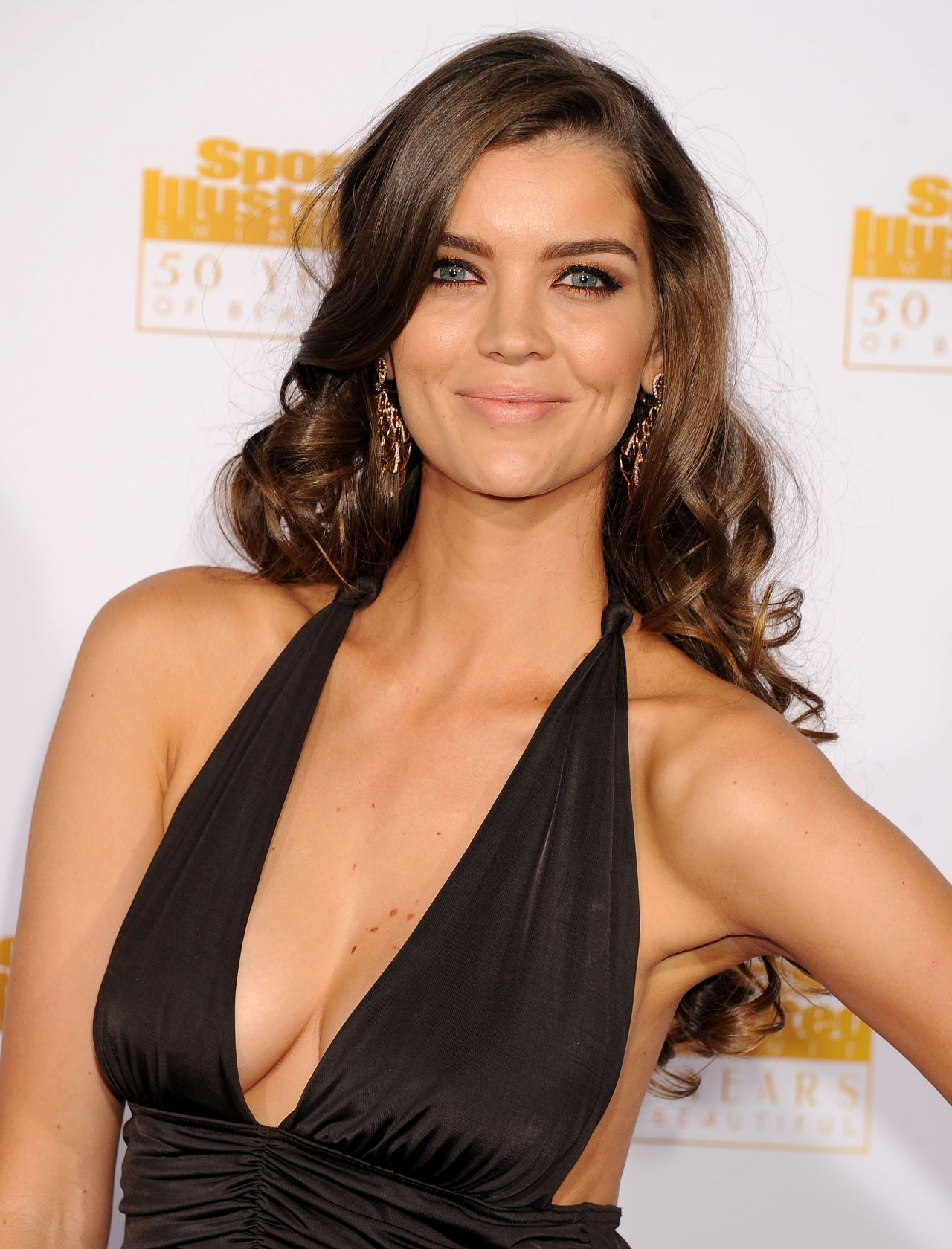 Natasha Barnard - 50th Anniversary of the SI Swimsuit Issue Celebration in Hollywood, January 2014