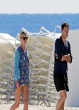 Nicky Hilton Beach Style - South Beach, Florida, January 2014