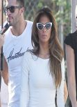 Nicole Scherzinger-  Set Photos from Sunland, California, January 2014
