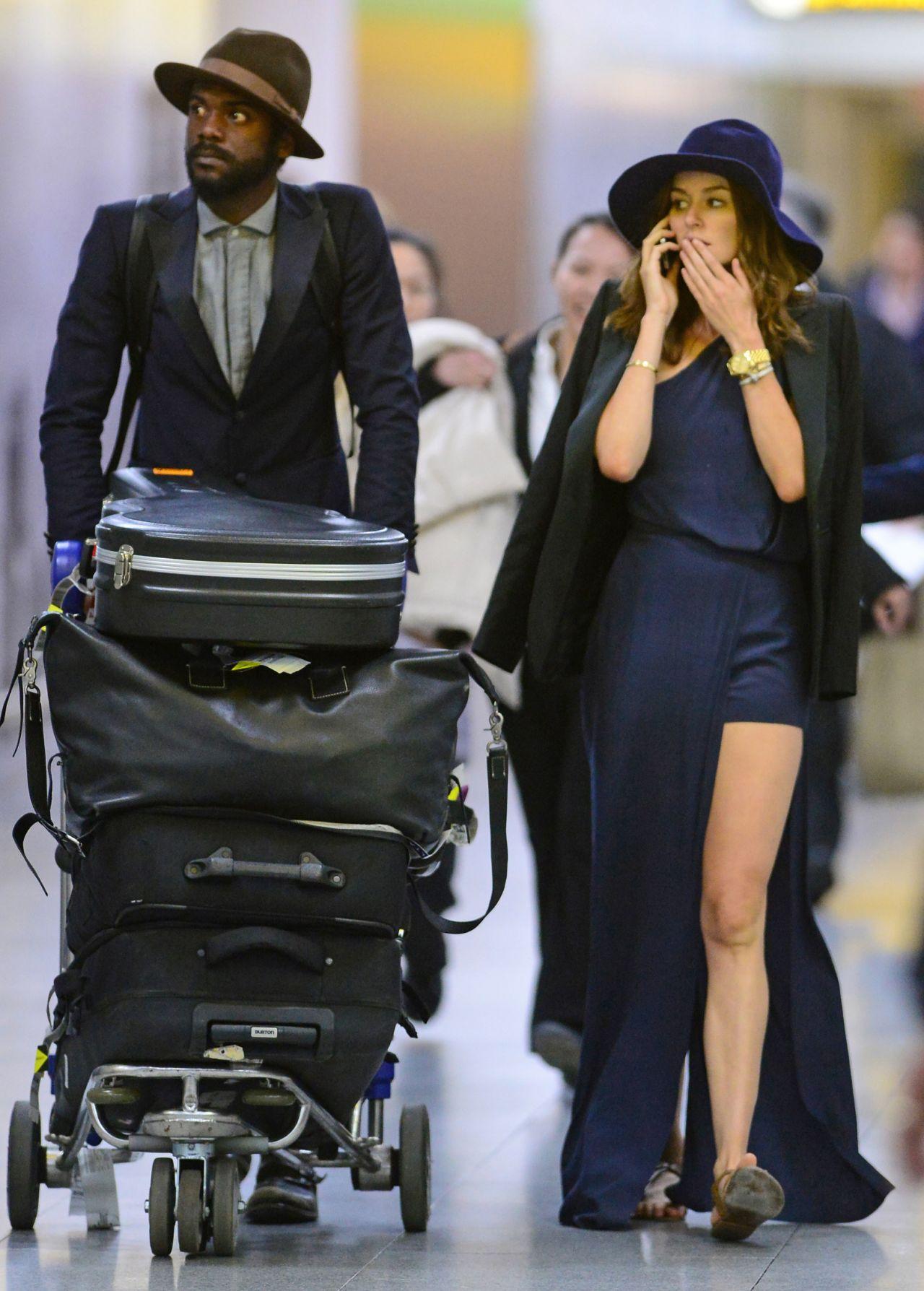 Nicole Trunfio Style Jfk Airport In New York City