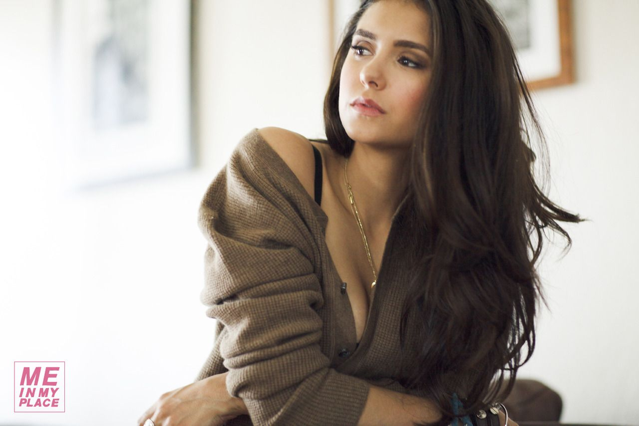 Nina Dobrev - ESQUIRE - Me in my place