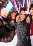 Nina Dobrev in Jenny Packham – 2014 People's Choice Awards