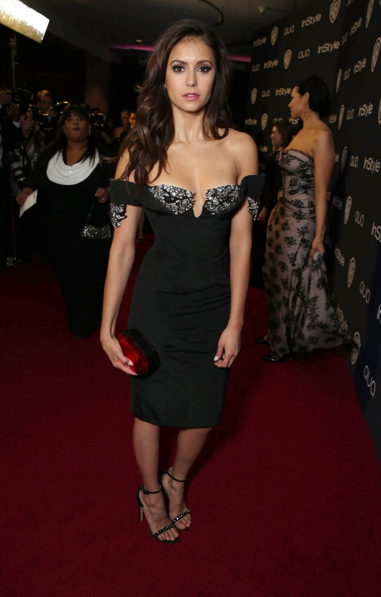 Nina Dobrev - InStyle & Warner Bros. 2014 Golden Globes Afterparty