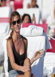 Olga Kent in a Bikini - Miami Beach - January 2014