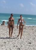 Olga Kent & Julia Pereira - Bikini Photos -Miami, January 2014