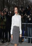 Olga Kurylenko at CHANEL Fashion Show in Paris, January 2014