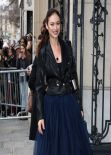 Olga Kurylenko - Jean Paul Gaultier Fashion Show in Paris, January 2014