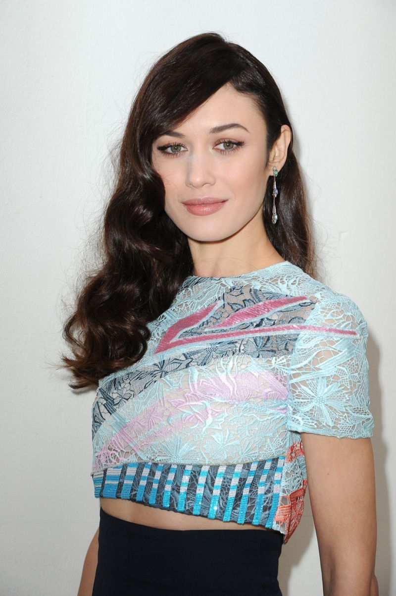 Olga Kurylenko Photoshoot - Christian Dior Fashion Show in Paris