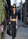 Olivia Munn Style - out in Beverly Hills, January 2014