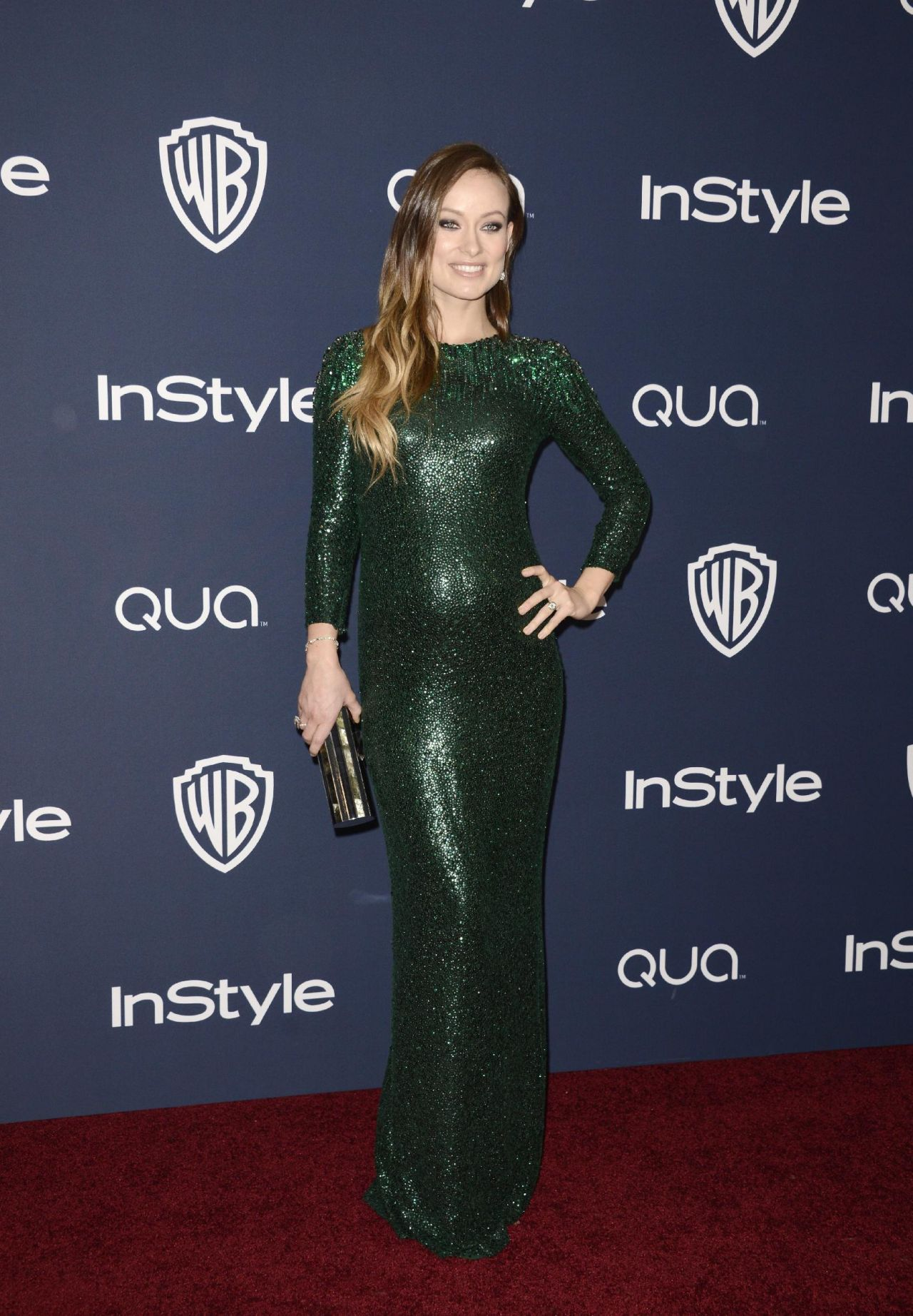 Olivia Wilde - InStyle & Warner Bros. 2014 Golden Globe Awards Post-Party